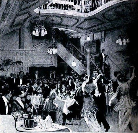 London nightclub, 1914