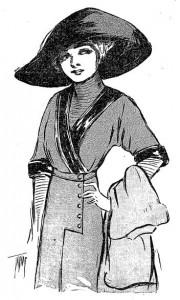 February 1911 fashion