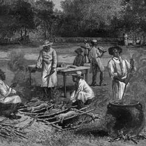 A Southern Barbecue, 1887, by Horace Bradley