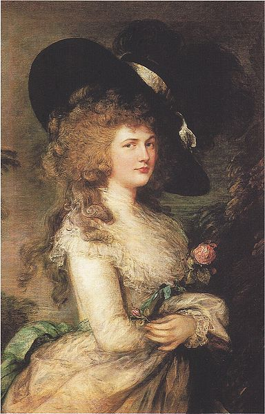Gainsborough's the Duchess of Devonshire