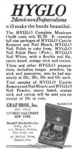 Hyglo Manicure Preparations