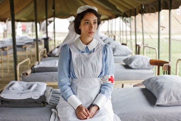Oona Chaplin in The Crimson Field