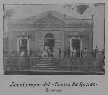 Headquarters of Centro de Recreo, built in 1901.