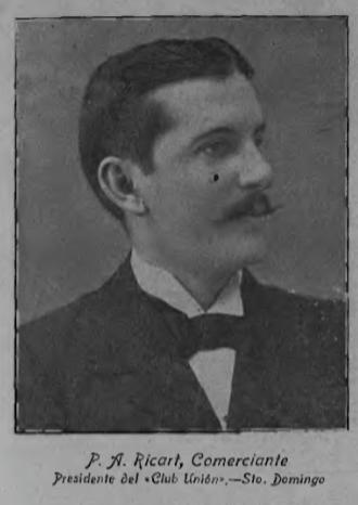 P.A. Ricart, President of Club Union of Santo Domingo.
