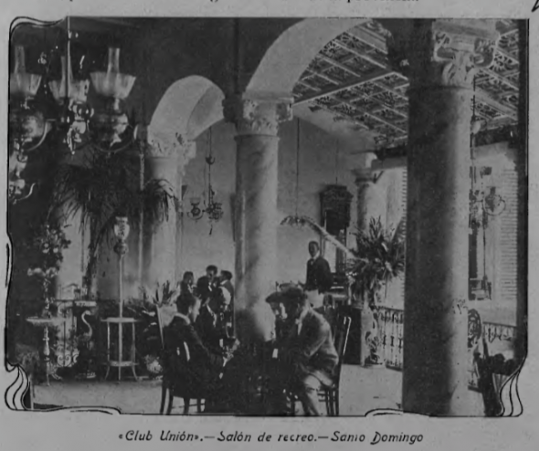 Interior of Club Union