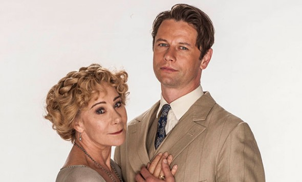 Zoë Wanamaker as Princess Marie and Leon Ockenden as Serge De Bolotoff