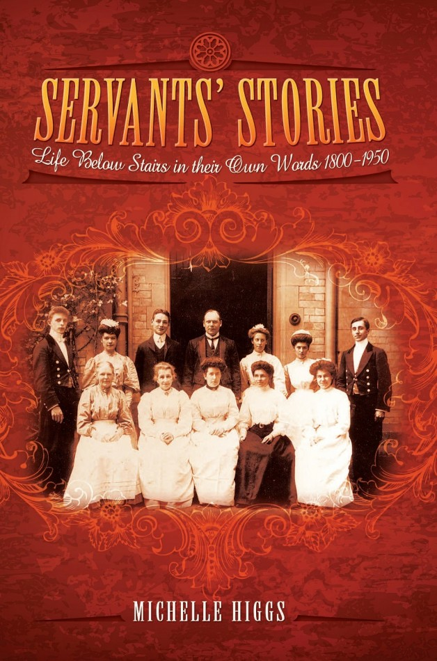 Servants' Stories Front Cover - Copy
