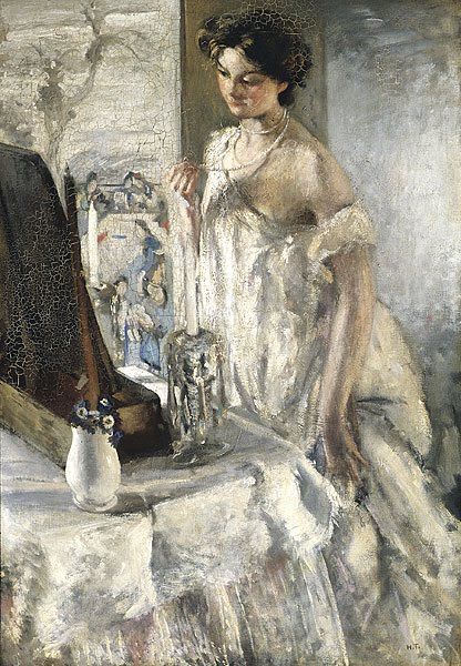 The Pearl Necklace, c.1905 by Henry Tonks 1862-1937