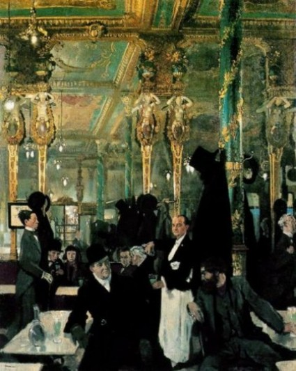 William Orpen, 'Café Royal London 1912′