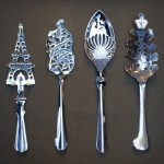 Absinthe Spoons (Including Eiffel Tower)