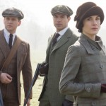 Lady Mary Crawley, Tom Branson, and Tony Gillingham