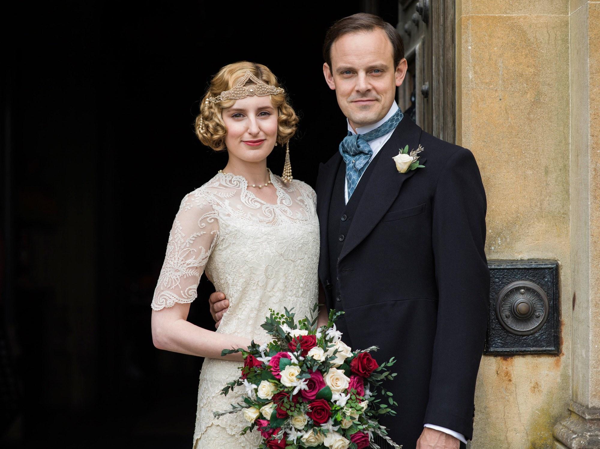 Downton Abbey Wedding Dress 34 Elegant