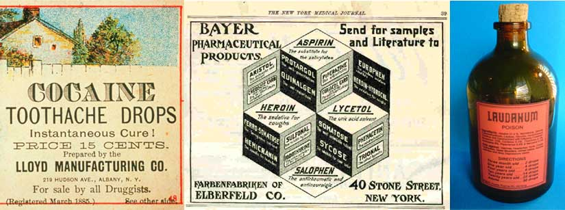 A smattering of Edwardian remedies.
