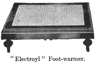 electric foot-warmer