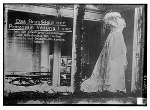 Viktoria Luise's wedding gown
