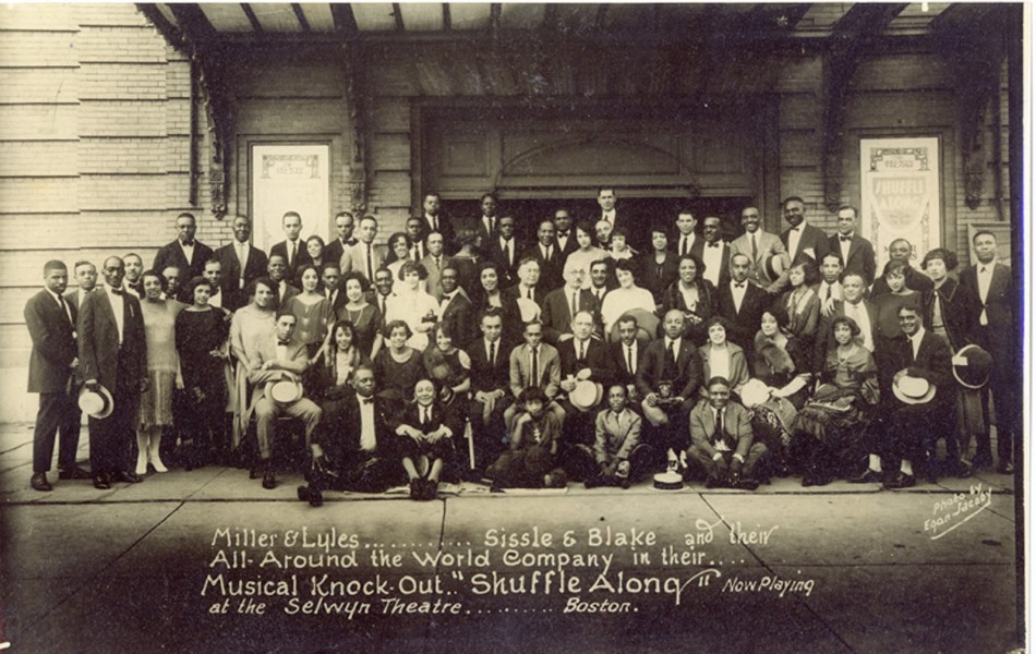 The Cast of Shuffle Along, 1921