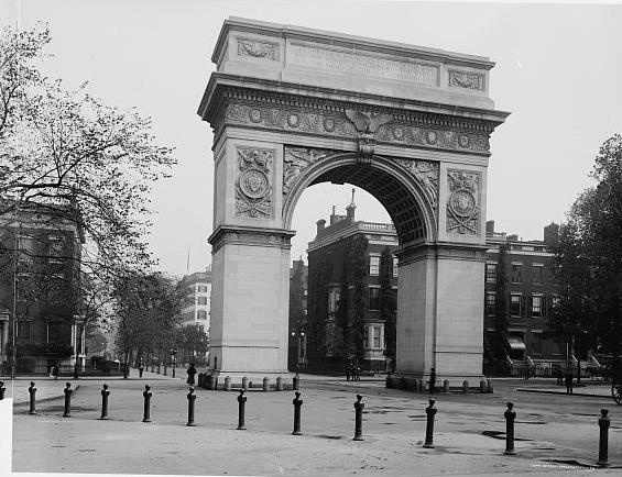 Washington Square Arch designed by Stanford White