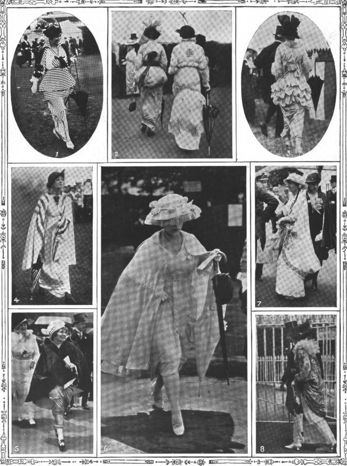Ascot fashions - June 1914