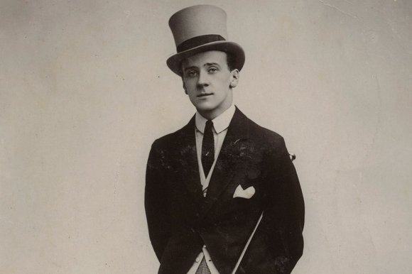"Basil Hallam as ""Gilbert the Filbert"""