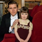 Tom Branson and his daughter Sybbie