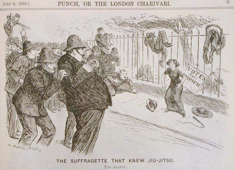 Edith Garrud in action