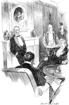 Gentleman's club, 1906