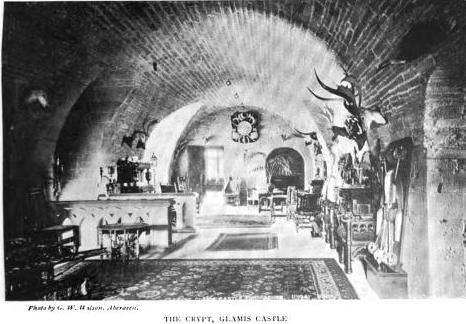 Glamis Castle Crypt