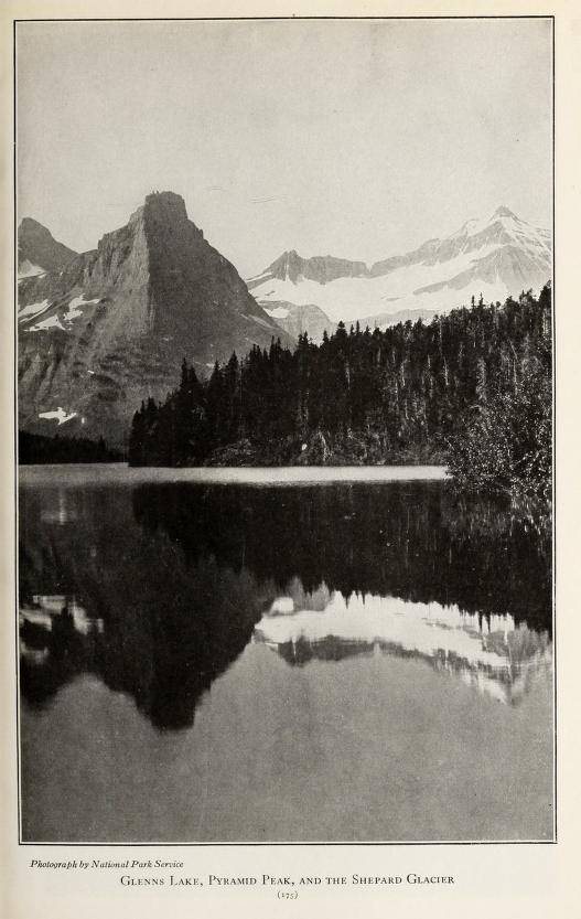 Glenns Lake, Pyramid Peak, and the Shepard Glacier [Glacier National Park, Montana]