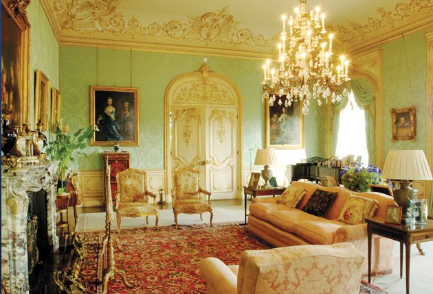 Highclere Castle drawing room