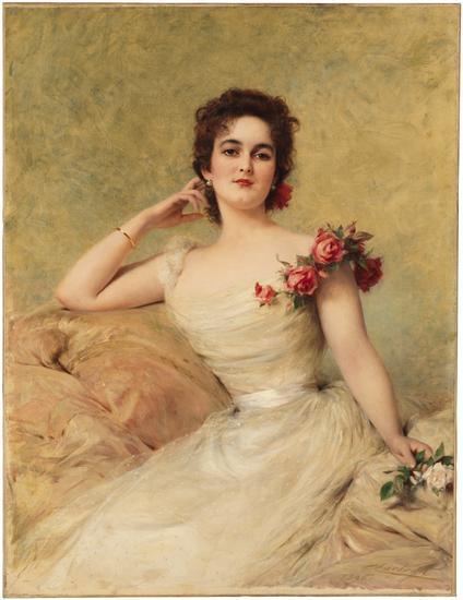 Helen Virginia Sands De Lamar (Mrs. Joseph De Lamar)
