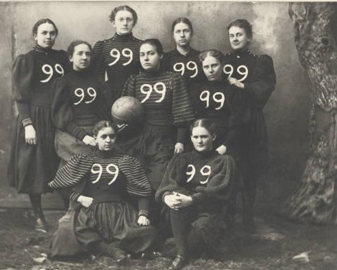 Mount Holyoke Class of 1899 Basketball Team