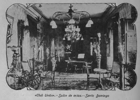 Interior of Club Union