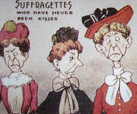 Suffragette satire