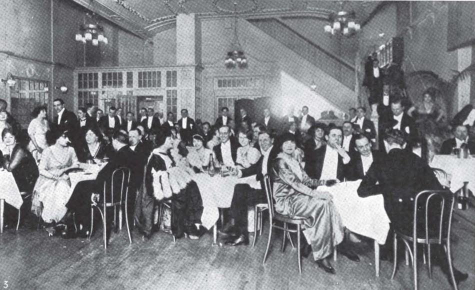 The Four Hundred club in Old Bond Street
