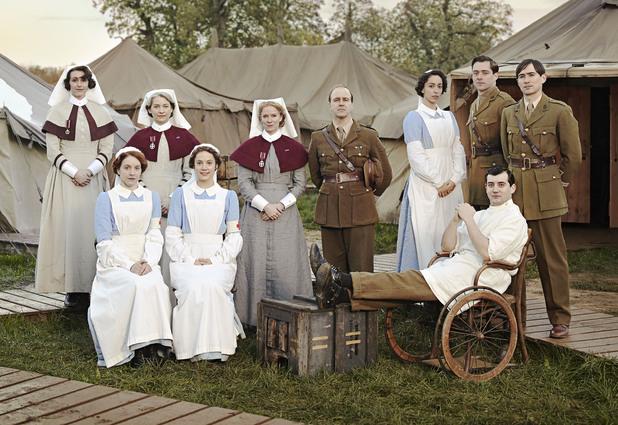The Crimson Field cast