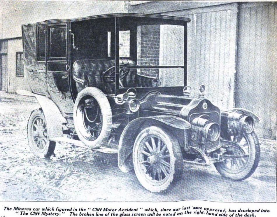 Violet's motorcar