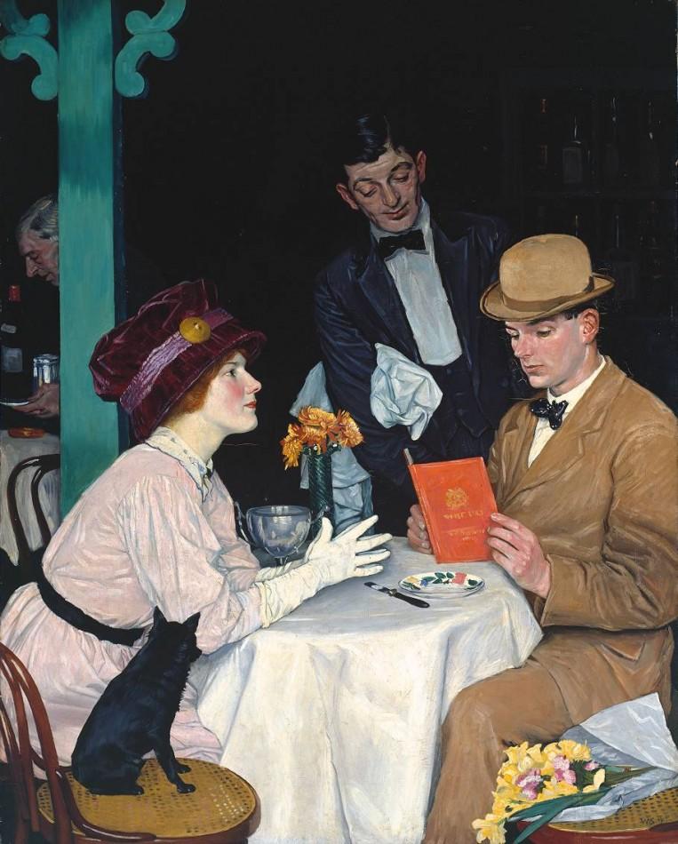 William Strang - Bank Holiday, 1912