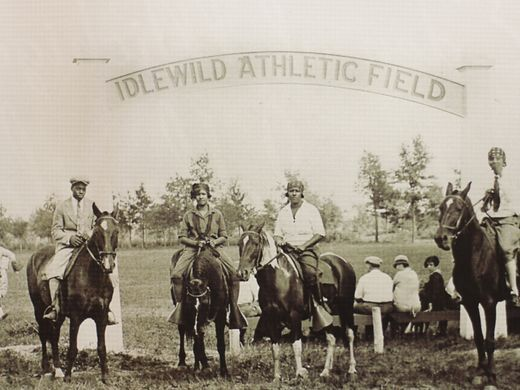 Idlewild Athletic Field, ca 1910s