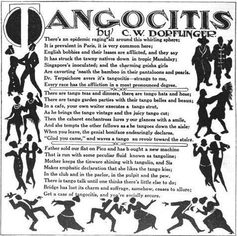 tangocitis poem